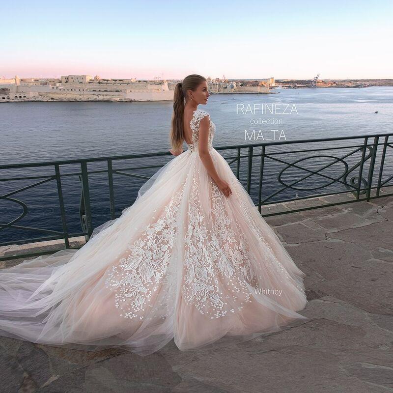 Свадебное платье напрокат Rafineza Платье свадебное Whitney напрокат - фото 2