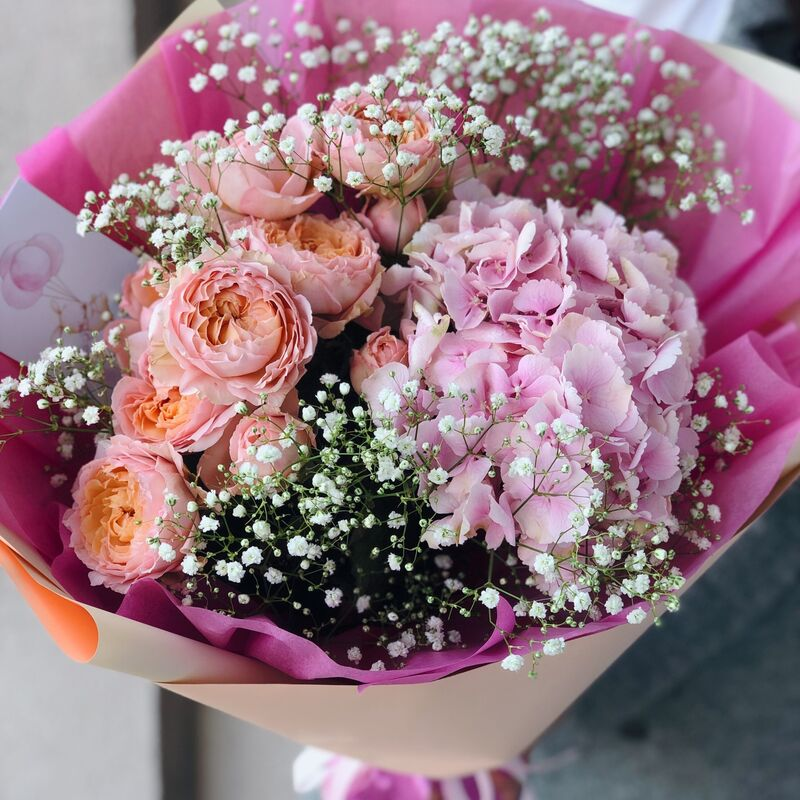 Магазин цветов Кошык кветак Букет классический №11 - фото 1