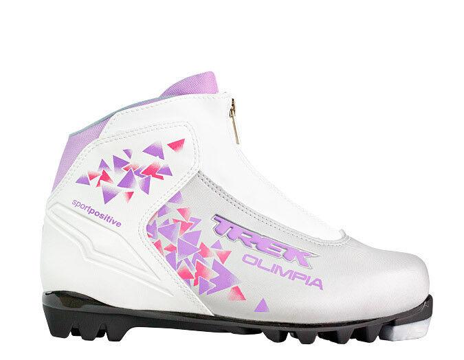 Лыжный спорт Trek Ботинки лыжные Olimpia Сomfort NNN - фото 1