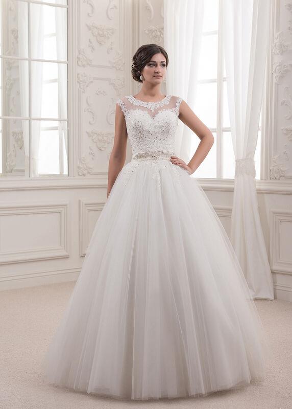 Свадебное платье напрокат White One (Pronovias) Платье свадебное «Sabina» - фото 1