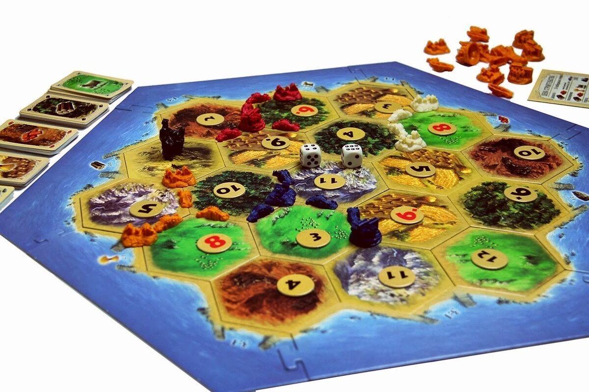 Магазин настольных игр Hobby World Настольная игра «Колонизаторы» - фото 3