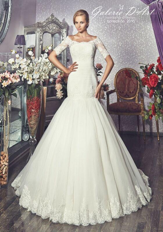 Свадебное платье напрокат Galerie d'Art Платье свадебное «Klorans» из коллекции BESTSELLERS - фото 1