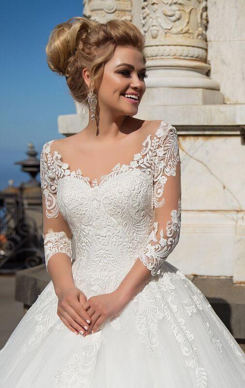 Свадебный салон NaviBlue Свадебное платье Lissa 17004 - фото 2