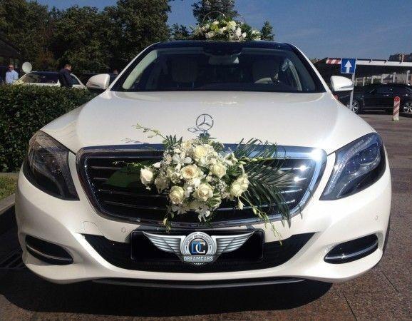 Прокат авто Mercedes-Benz W222 S-class белого цвета - фото 3