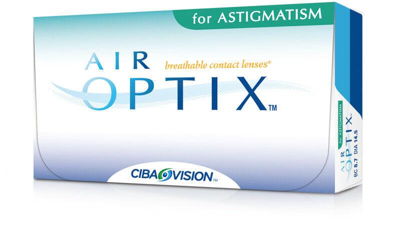 Линзы CIBA Vision Контактные линзы Air Optix for Astigmatism - фото 1
