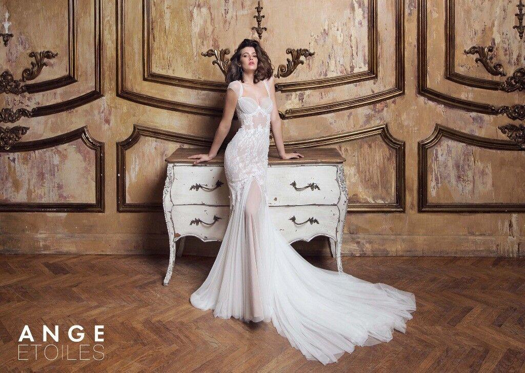 Свадебное платье напрокат Ange Etoiles Платье свадебное Charm 2017 Selesta - фото 1