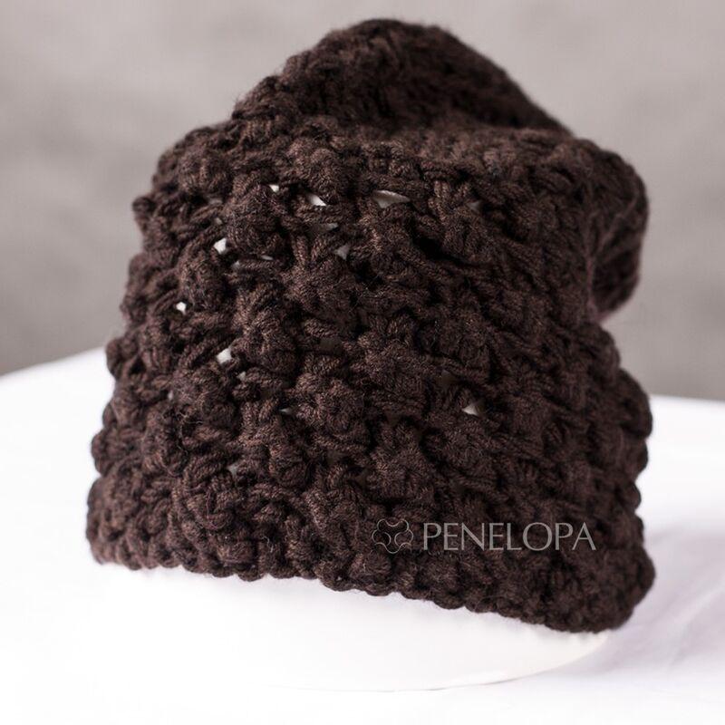 Головной убор PENELOPA Шапка «Шоколадное прикосновение» M103 - фото 1