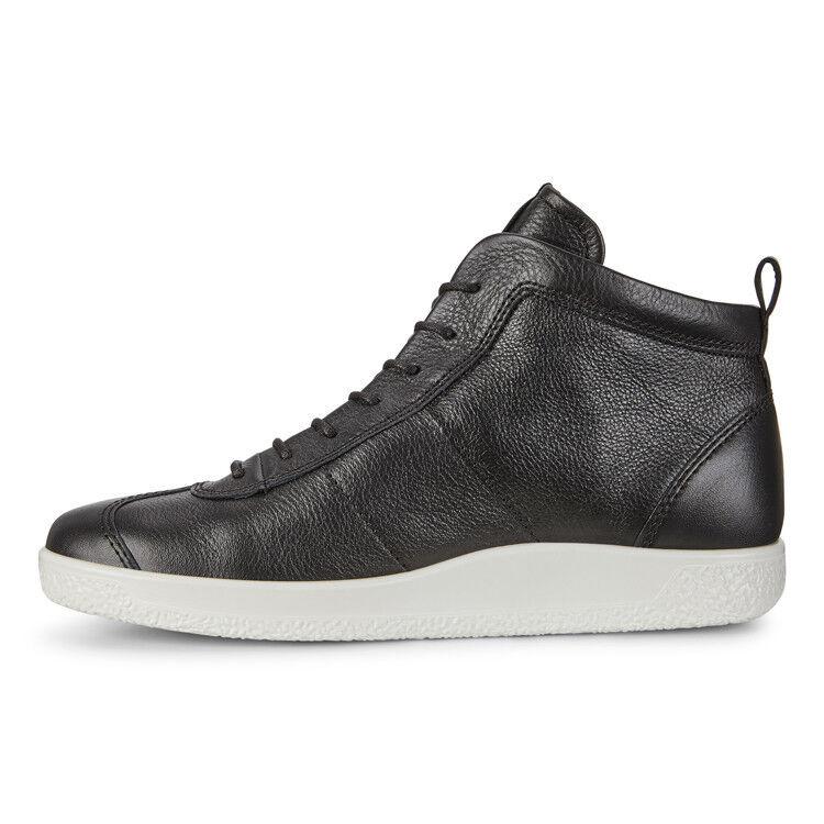 Обувь мужская ECCO Кеды высокие SOFT 1 400524/01001 - фото 2