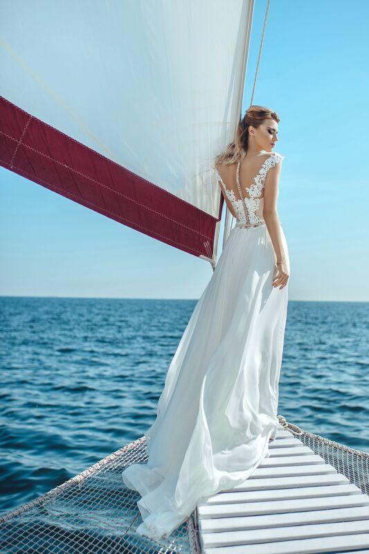 Свадебное платье напрокат Nicole Платье свадебное Lily - фото 2