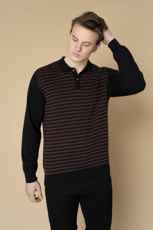 Кофта, рубашка, футболка мужская Etelier Джемпер мужской  tony montana 211395 - фото 1