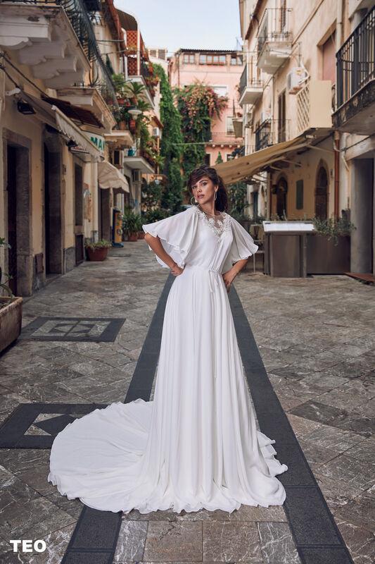 Свадебный салон Bonjour Galerie Свадебное платье TEO из коллекции BELLA SICILIA - фото 5