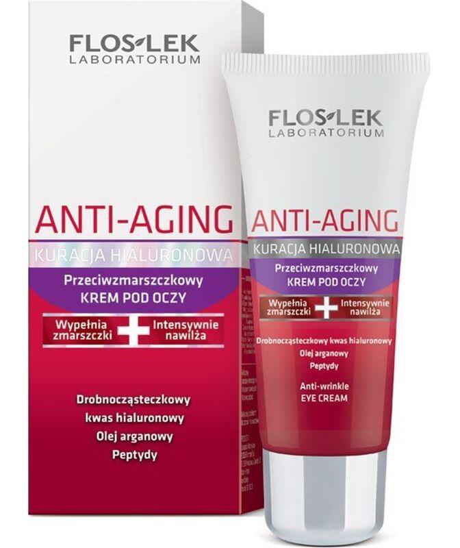 Уход за лицом Floslek Крем вокруг глаз против морщин Anti-Aging Anti-wrinkle eye cream - фото 1