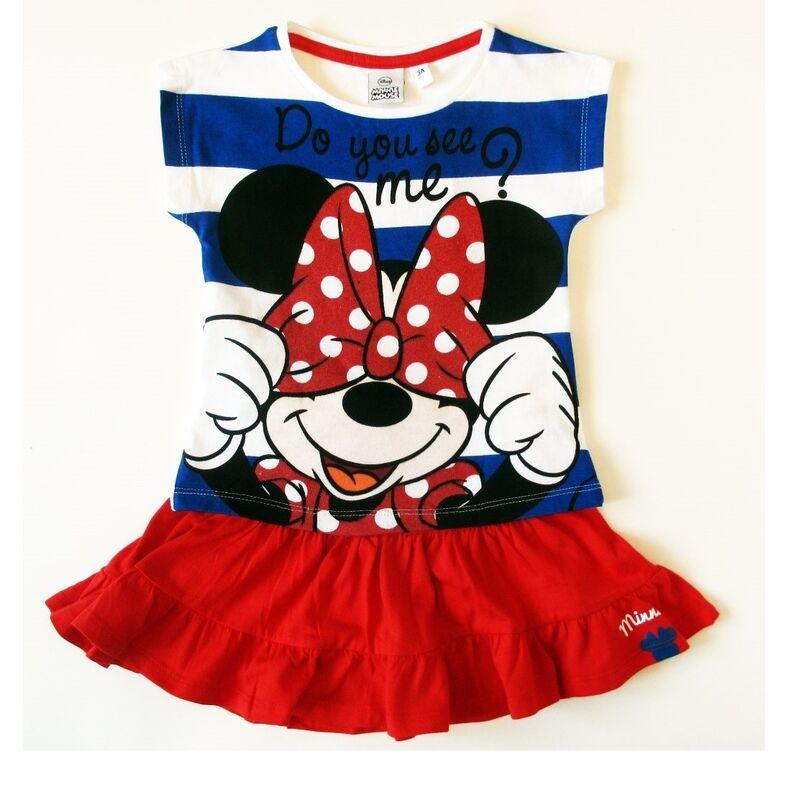 Платье детское Sun City Комплект для девочки Минни OE1174/2 - фото 1