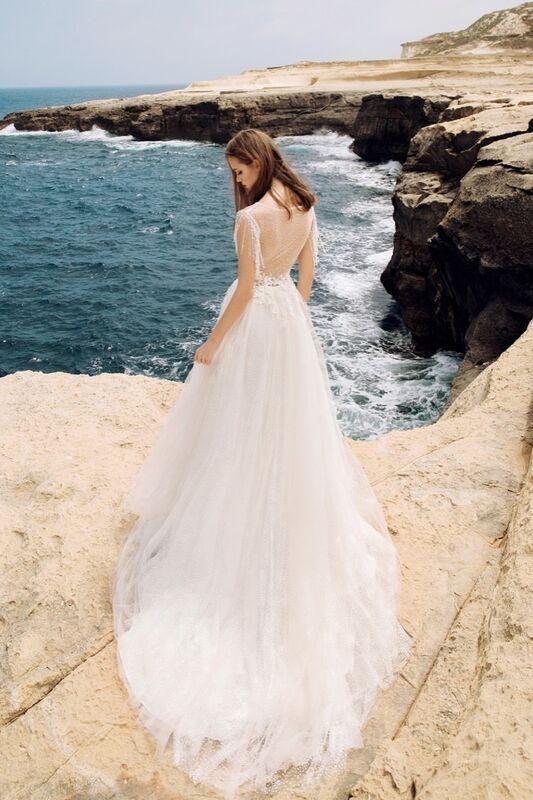 Свадебный салон Vanilla room Свадебное платье Анита - фото 3