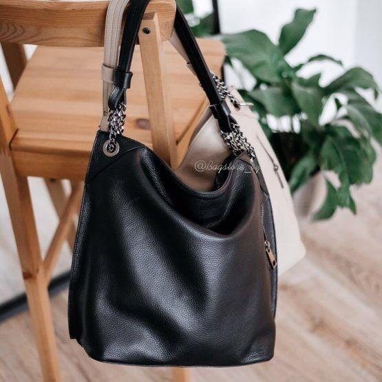 Магазин сумок Vezze Кожаная женская сумка  C00472 - фото 2