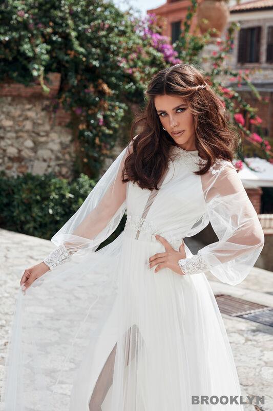 Свадебный салон Bonjour Galerie Свадебное платье BROOKLYN из коллекции BELLA SICILIA - фото 6