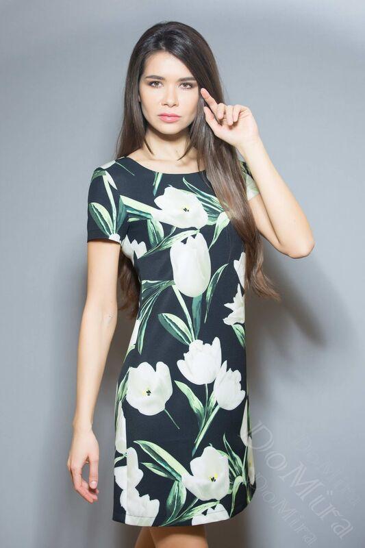 Платье женское DoMira Платье М-01-372 - фото 1