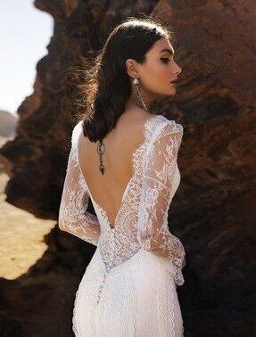 Свадебное платье напрокат Blammo-Biamo Свадебное платье Dream Ocean Yara - фото 3