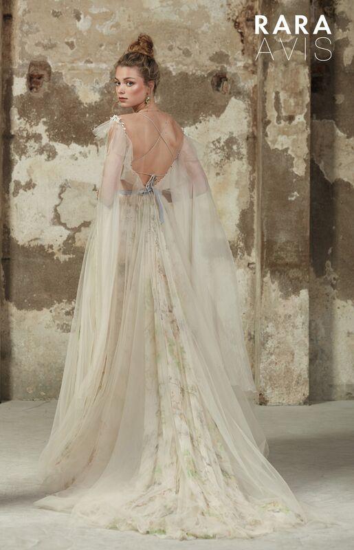 Свадебное платье напрокат Rara Avis Платье свадебное Floral Paradise Delvin - фото 2
