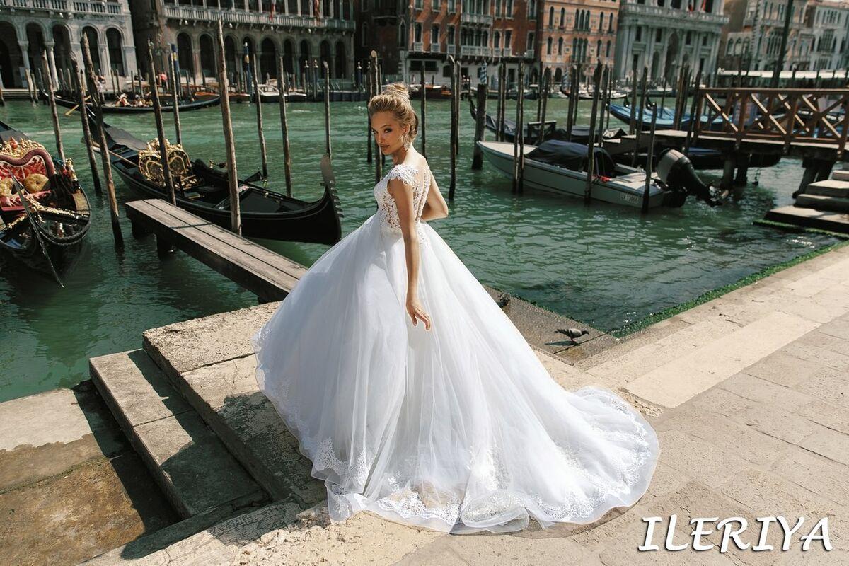 Свадебный салон Bonjour Galerie Свадебное платье Ileriya из коллекции La Douceur - фото 4