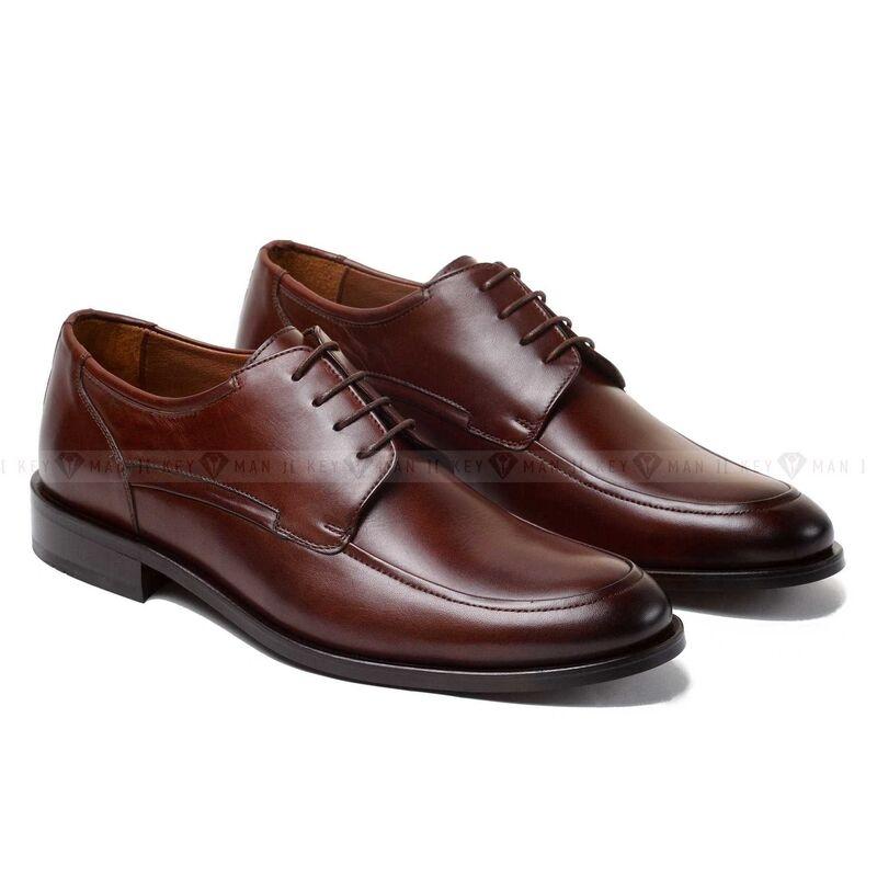 Обувь мужская Keyman Туфли мужские дерби коричневые - фото 1