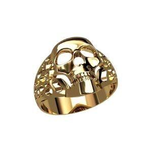 Ювелирный салон jstudio Печатка золотая с узором 30222 - фото 1