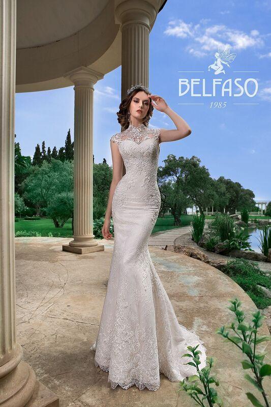 Свадебное платье напрокат Belfaso Платье свадебное Gvinet - фото 1