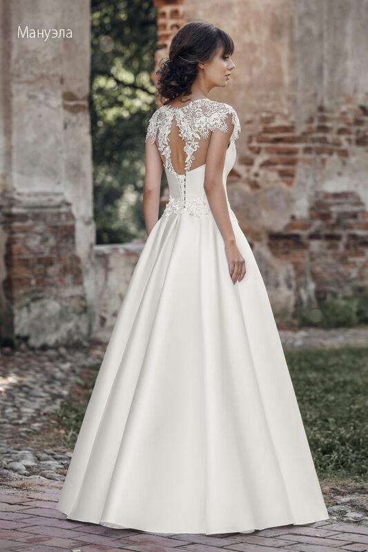 Свадебное платье напрокат Vintage Платье свадебное «Мануэла» - фото 2