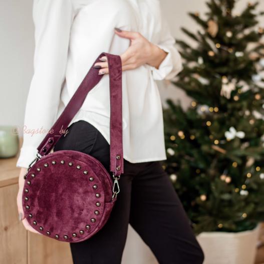Магазин сумок Vezze Кожаная женская сумка V00418 - фото 1