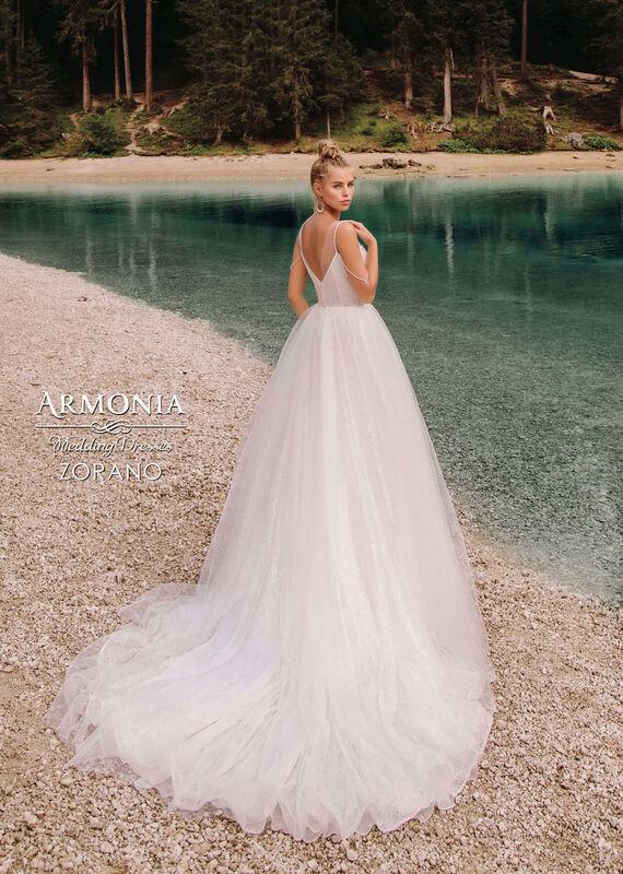 Свадебный салон Armonia Свадебное платье Zorano - фото 3