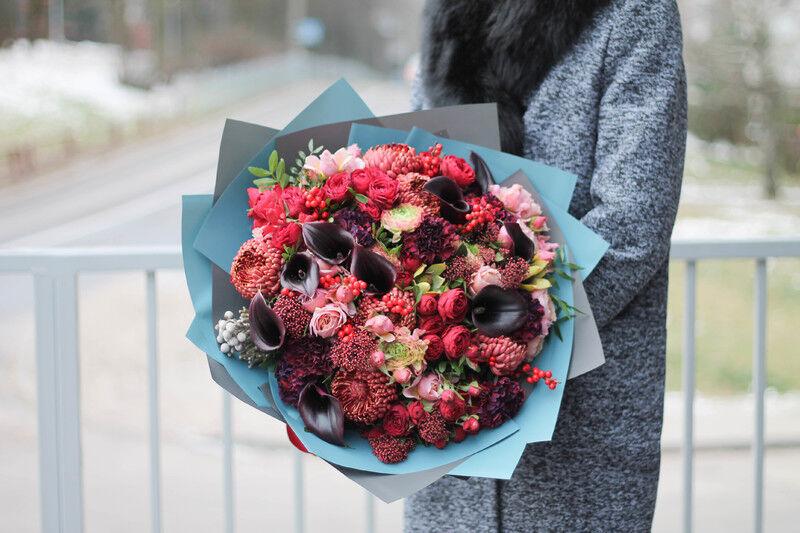 Магазин цветов Cvetok.by Букет «Фламенко» - фото 1