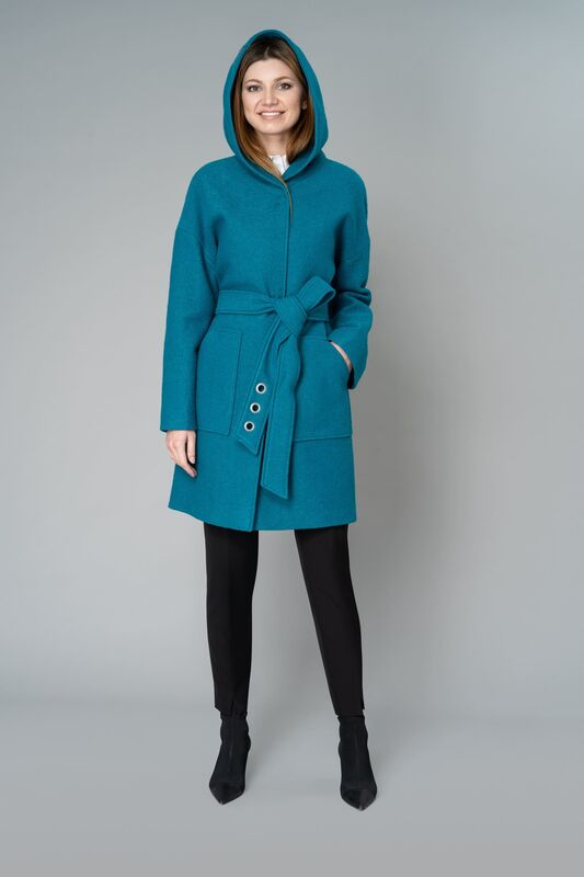 Верхняя одежда женская Elema Пальто женское демисезонное 1-9288-1 - фото 4