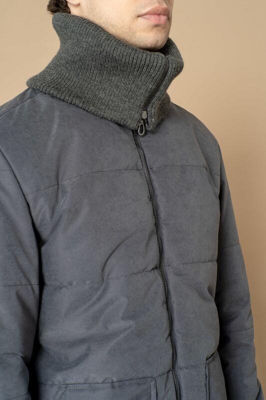 Верхняя одежда мужская Etelier Куртка мужская плащевая утепленная 4М-8523-1 - фото 8