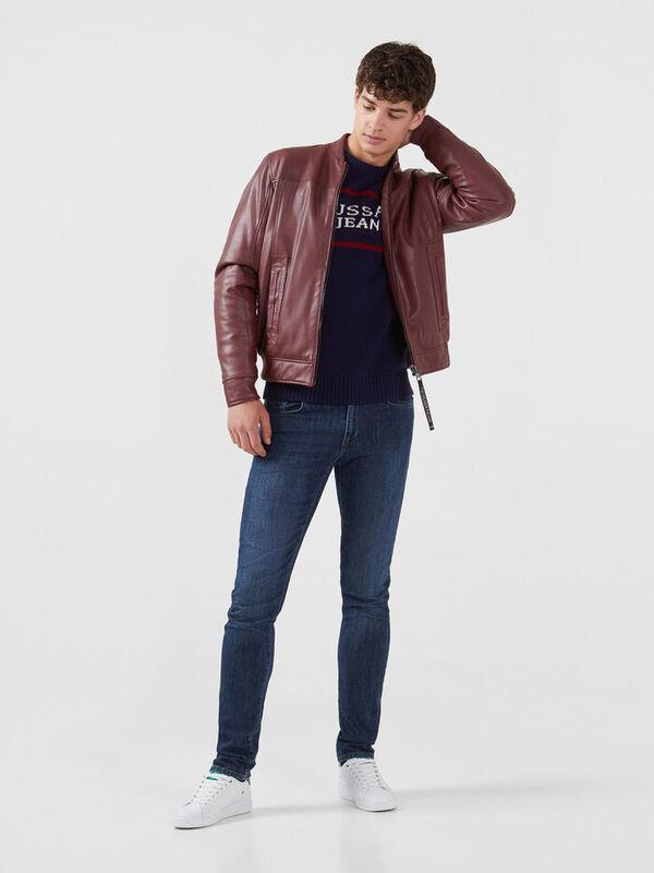 Кофта, рубашка, футболка мужская Trussardi Свитер мужской 52M00256-0F000425 - фото 3