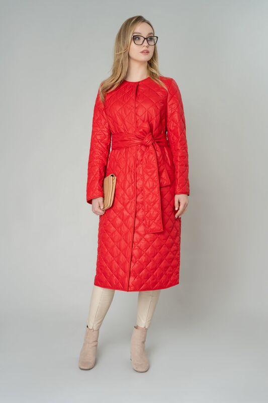 Верхняя одежда женская Elema Пальто женское плащевое утепленное 5-9906-1 - фото 1