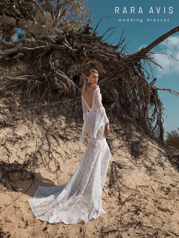 Свадебное платье напрокат Rara Avis Свадебное платье Wild Soul Luchian - фото 4