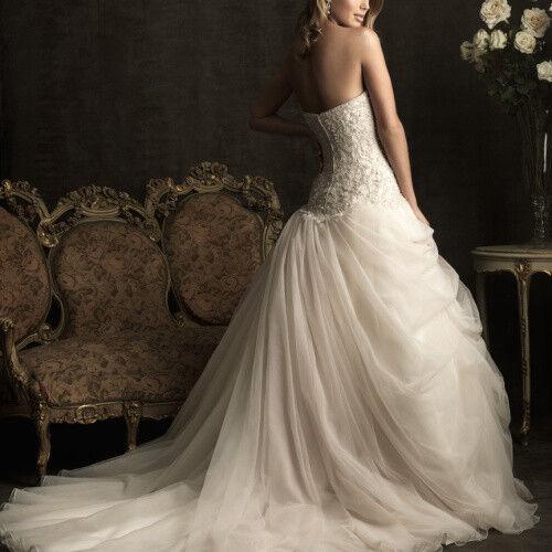 Свадебное платье напрокат Allure Bridals Платье свадебное 8901 - фото 2