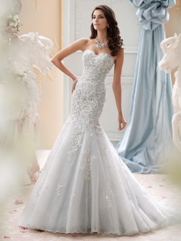 Свадебное платье напрокат David Tutera Платье свадебное 115232 Gia - фото 2
