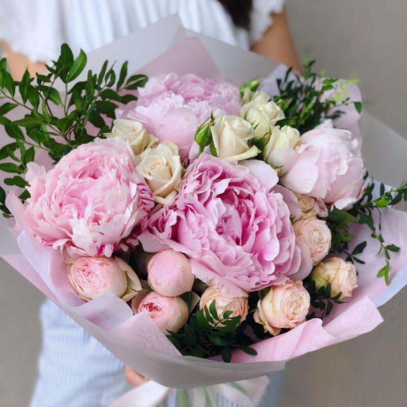 Магазин цветов Кошык кветак Букет классический №21 - фото 1