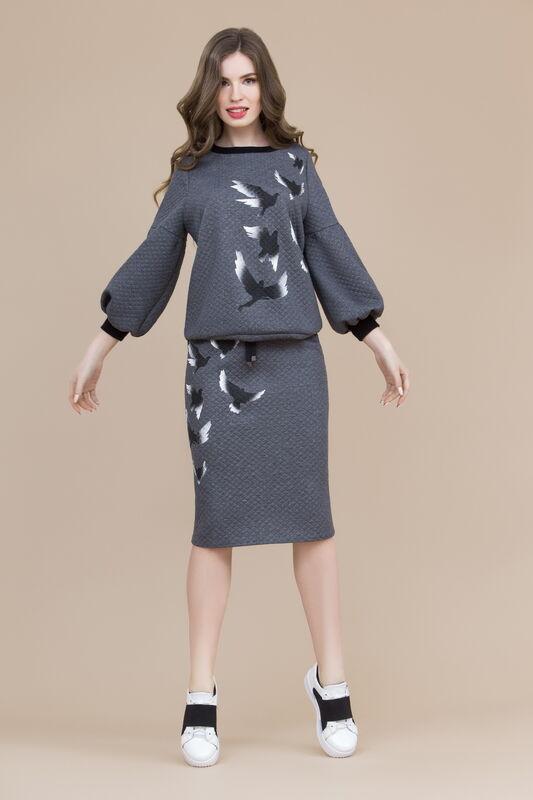 Кофта, блузка, футболка женская Elema Блузка женская 2К-8319-1 - фото 1