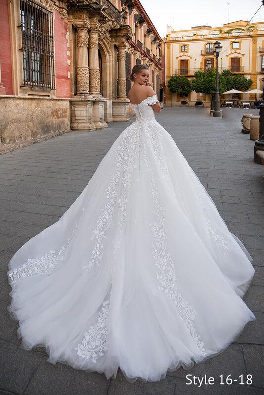 Свадебный салон Giovanna Alessandro Cinderella Свадебное платье - фото 3