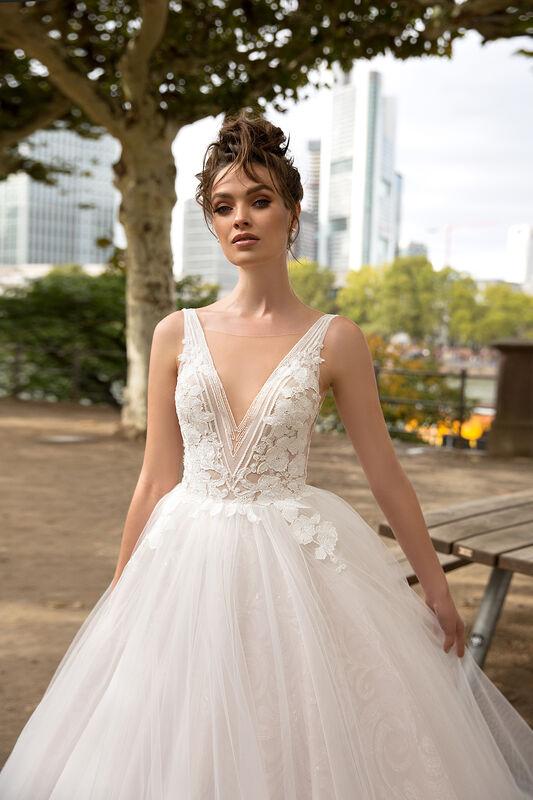 Свадебное платье напрокат Vanilla room Платье свадебное Энжел - фото 1