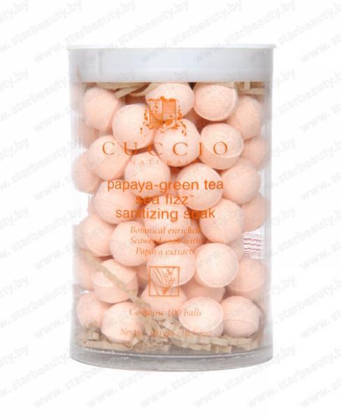 Уход за телом Cuccio Naturale Антисептические шарики с маслом папайи и чайного дерева - фото 1