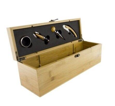 Подарок Grunwerg Подарочный набор для вина, 5 пр. (с коробкой для вина), 5WBS / BB - фото 1