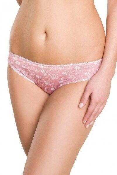 Женское нижнее белье ФЭСТ Трусы универсальные 50001, бело-розовые - фото 1