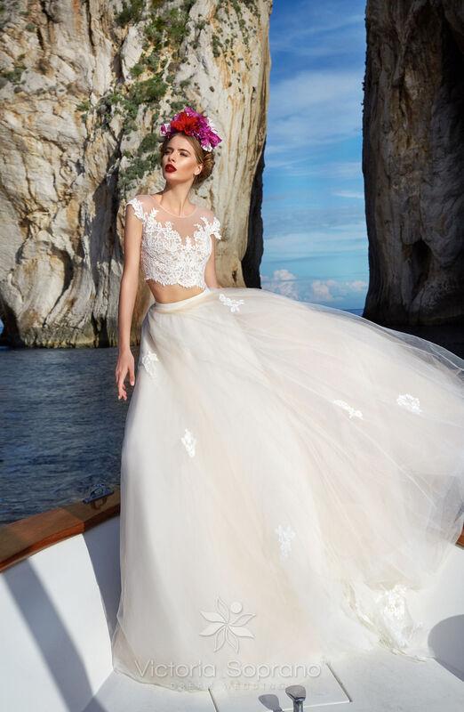 Свадебное платье напрокат City Bride Свадебное платье VS13518 - фото 3