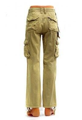 Спортивная одежда TBJ Брюки милитари карго светло- песочные - фото 2