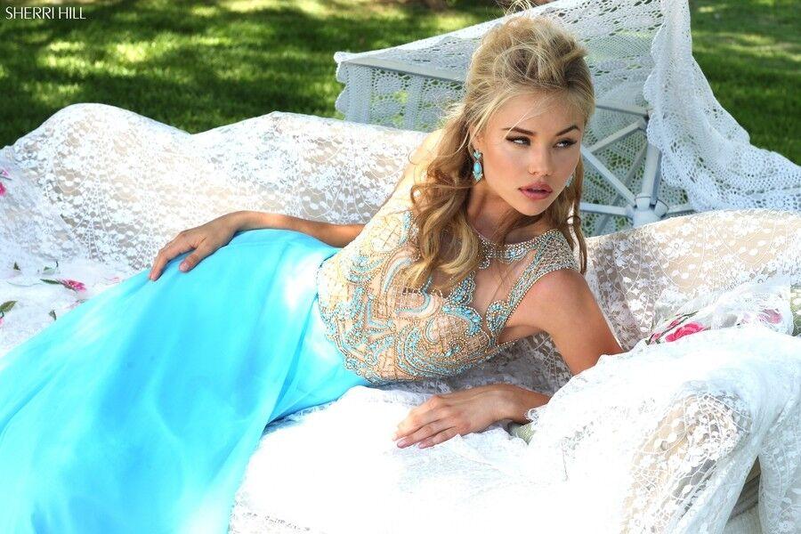 Свадебное платье напрокат Sherri Hill Платье свадебное 50160 - фото 3