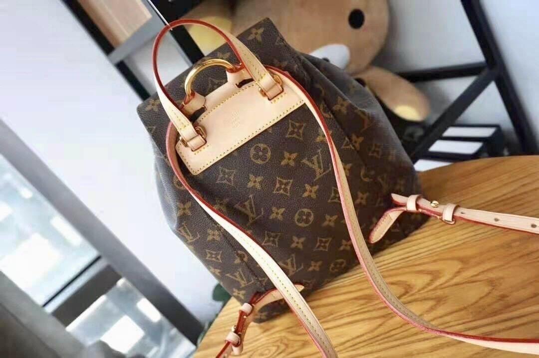 Магазин сумок Louis Vuitton Рюкзак женский коричневый - фото 2