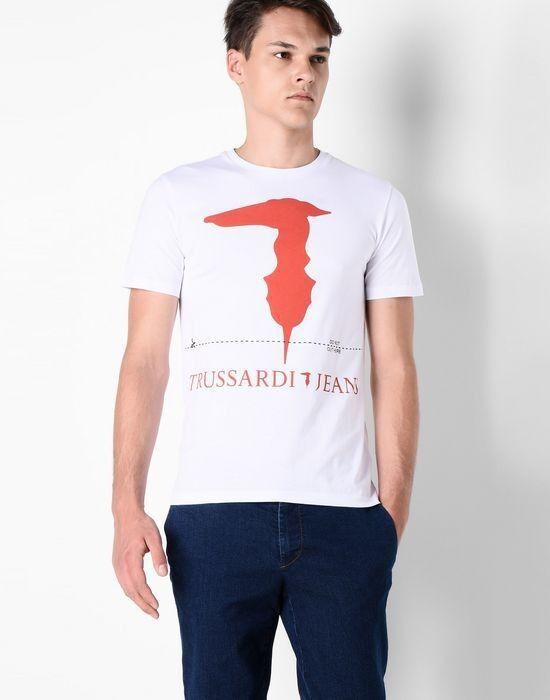 Кофта, рубашка, футболка мужская Trussardi Футболка мужская 52T46 _510069 - фото 2
